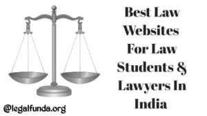 best websites for law students in india