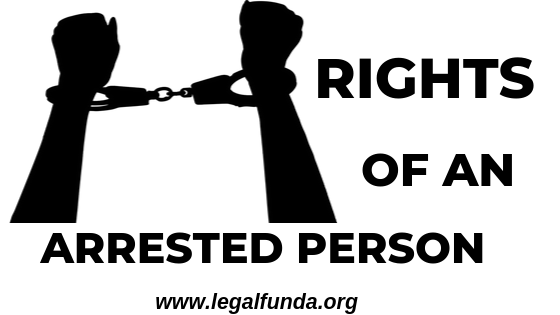 rights of an arrested person